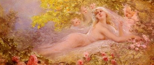 A Brides Fantasy | Georges Jules Victor Clairin | Oil Painting