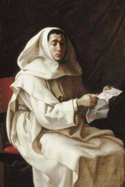 Portrait of an Olivetan priest | Luigi Miradori | Oil Painting