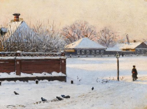 A Street in the Town of Rostov | Vasily Vasilevich Vereshchagin | Oil Painting