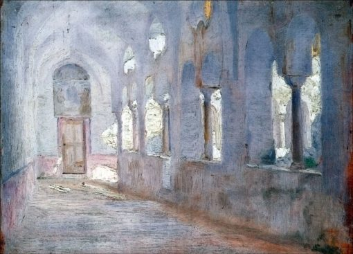The Cloister   Marie Triepcke Kroyer   Oil Painting