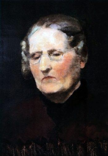 Portrait of Aunt Heidel   Marie Triepcke Kroyer   Oil Painting