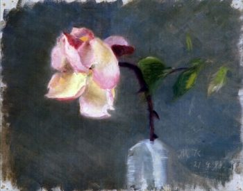 Rose | Marie Triepcke Kroyer | Oil Painting