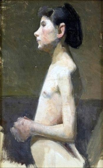 Nude Girl | Marie Triepcke Kroyer | Oil Painting