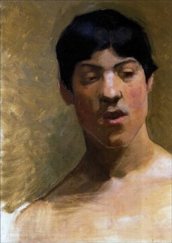 Young Man | Marie Triepcke Kroyer | Oil Painting