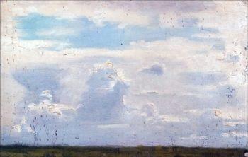 Clouds | Marie Triepcke Kroyer | Oil Painting
