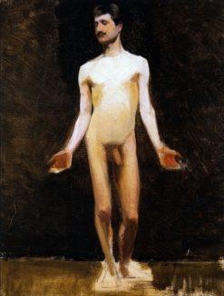 Male Nude   Marie Triepcke Kroyer   Oil Painting