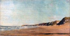 Lokken Beach   Marie Triepcke Kroyer   Oil Painting