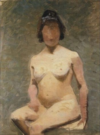 Nude | Marie Triepcke Kroyer | Oil Painting