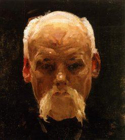 Head of an Old Man | Oleksandr Murashko | Oil Painting