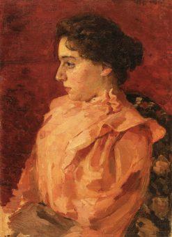 Girl in a Pink Blouse | Oleksandr Murashko | Oil Painting