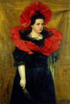 Portrait of Olga Prakhova | Oleksandr Murashko | Oil Painting