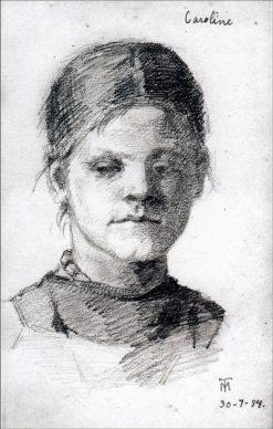 Caroline   Marie Triepcke Kroyer   Oil Painting