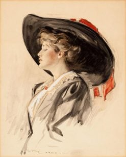 Portrait of a Lady | Henry Patrick Raleigh | Oil Painting