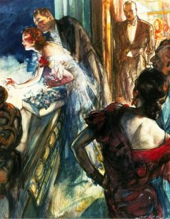 Balcony Scene | Henry Patrick Raleigh | Oil Painting