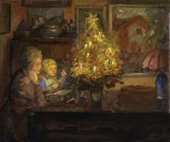 A Christmas Story | Viggo Johansen | Oil Painting