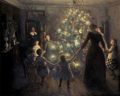 Happy Christmas | Viggo Johansen | Oil Painting