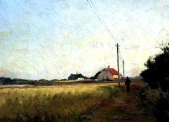 Landscape | Viggo Johansen | Oil Painting