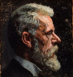 Self Portrait | Laurits Tuxen | Oil Painting