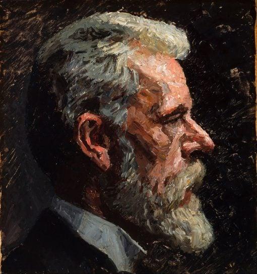 Self Portrait   Laurits Tuxen   Oil Painting