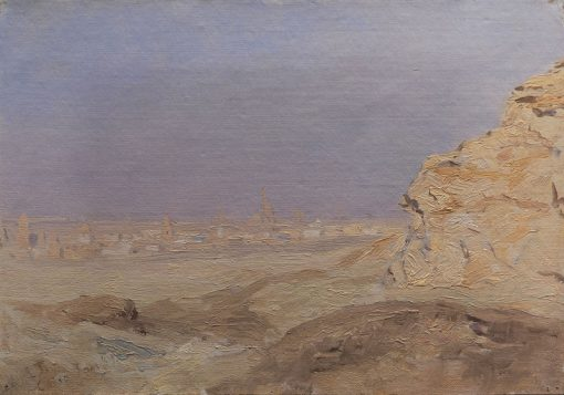 View of Cairo | Laurits Tuxen | Oil Painting