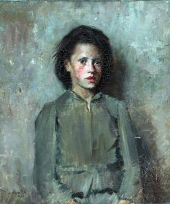 A French Peasant Girl | Joseph Milner Kite | Oil Painting