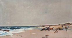 Boatmen -  Approaching Storm | Hugh Munro