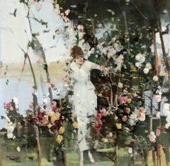 Roses and My Morning Walk | Hugh Munro