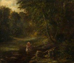 A Burn Side   James Stark   Oil Painting