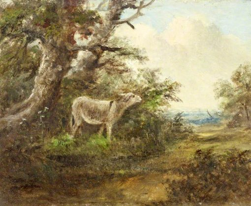 A Donkey in a Wood | James Stark | Oil Painting