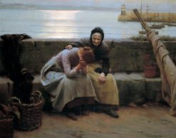 Never morning wore to evening but some heart did break | Walter Langley