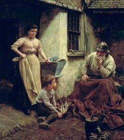 A Chip off the Old Block | Walter Langley