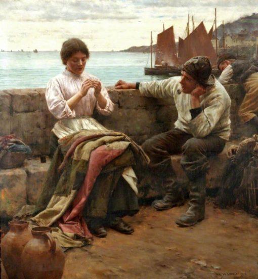A Cornish Idyll | Walter Langley
