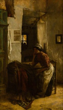 A Reverie | Walter Langley