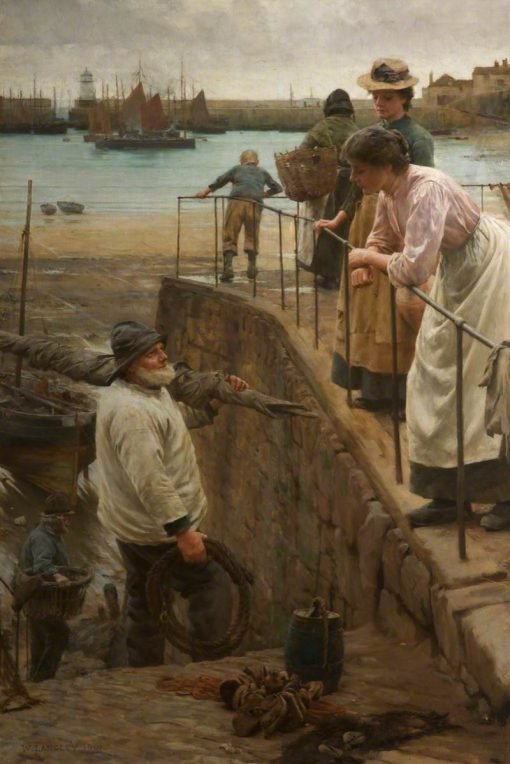 Between the Tides | Walter Langley
