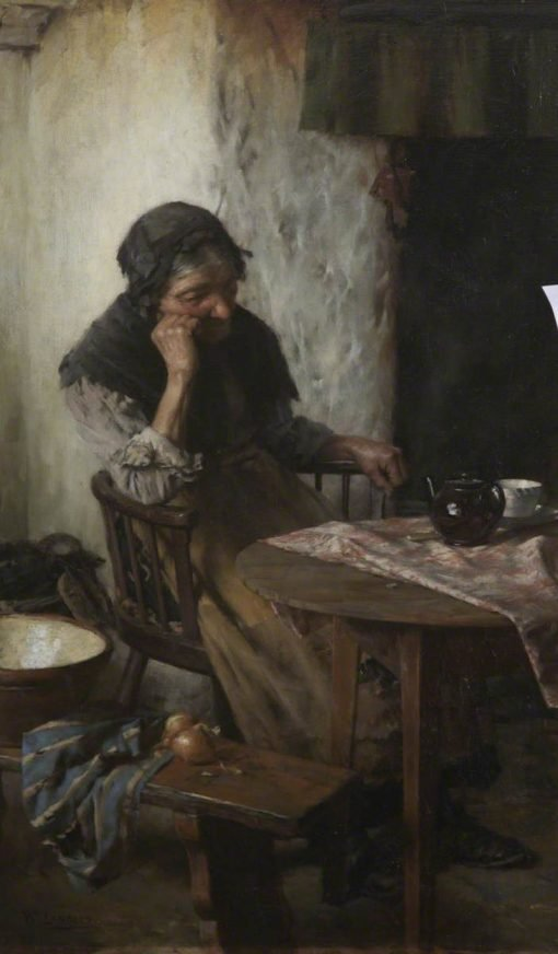 When One is Old   Walter Langley