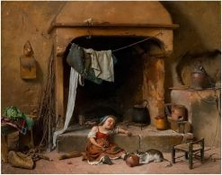 An opportune moment | Gaetano Chierici | Oil Painting
