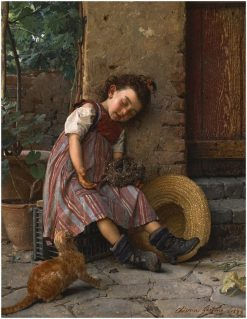 Propitious Moment | Gaetano Chierici | Oil Painting