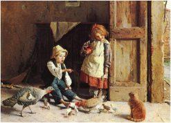 Discipline | Gaetano Chierici | Oil Painting