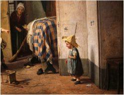Iistinto Alle Armi | Gaetano Chierici | Oil Painting