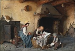 Mealtime | Gaetano Chierici | Oil Painting