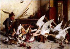 Patatrach | Gaetano Chierici | Oil Painting