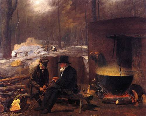 At the Camp Spinning Yarns and Whittling 1864-1866