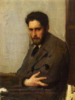 Portrait of Painter G. Ziss | Oleksandr Murashko | Oil Painting
