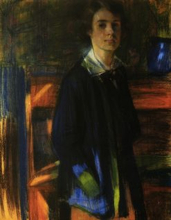 Portrait of Painter L.M. Kovalevskaya | Oleksandr Murashko | Oil Painting