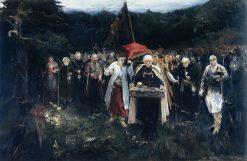 The Funeral | Oleksandr Murashko | Oil Painting