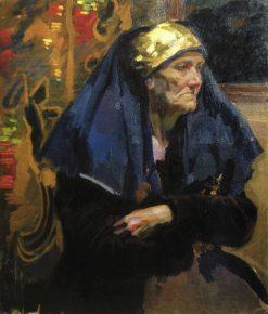 An Old Woman | Oleksandr Murashko | Oil Painting