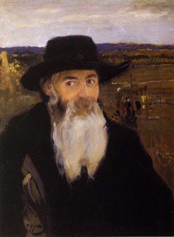 An Old Teacher | Oleksandr Murashko | Oil Painting