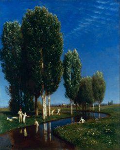 Summer Day   Arnold Böcklin   Oil Painting