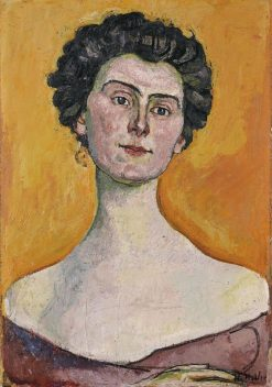 Portrait of Clara Pasche-Battie | Ferdinand Hodler | Oil Painting
