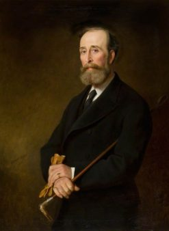 Sir William Ogilvy Dalgleish of Errol Park | Edward Hughes | Oil Painting